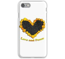 Dandelion love and peace iPhone Case/Skin