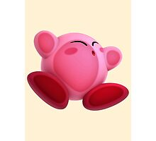 Screen Smush Kirby - Kirby Photographic Print