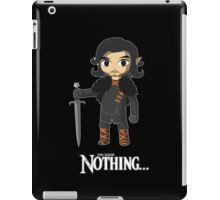The Legend Knows Nothing... iPad Case/Skin