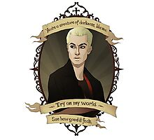 Spike - Buffy the Vampire Slayer/Angel Photographic Print