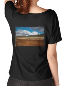 Paysage double-montage Women's Relaxed Fit T-Shirt