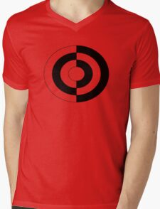 yin yang large original Mens V-Neck T-Shirt