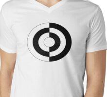 yin yang large original Mens V-Neck T-Shirt