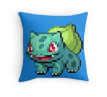 Bulbasaur Sprite  Throw Pillow