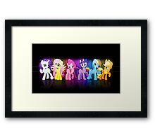 My Little Pony TOP Framed Print