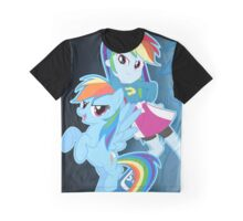 Rainbow Dash Girl Graphic T-Shirt