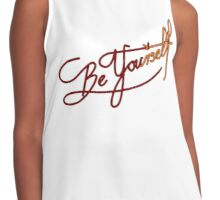 Be You(rself) Contrast Tank