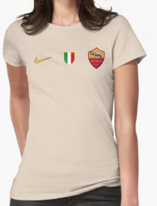 Roma FC Womens Fitted T-Shirt
