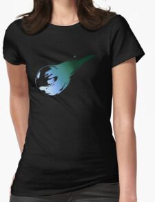 -FINAL FANTASY- Final Fantasy VII Logo Womens Fitted T-Shirt