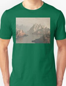 Canyon Landscape With River Unisex T-Shirt