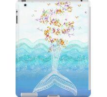 Flying whale iPad Case/Skin