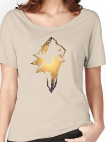 -FINAL FANTASY- Final Fantasy IX Logo Women's Relaxed Fit T-Shirt