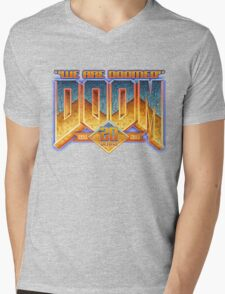 Doom Anniversary Mens V-Neck T-Shirt