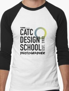 CATC - DESIGN SCHOOL PHOTOGRAPHY  Men's Baseball ¾ T-Shirt