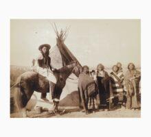 A pretty group at an Indian tent - John Grabill - 1891 Kids Tee