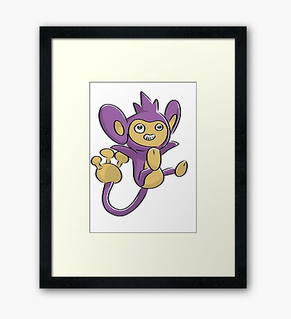 Aipom Pokemon  Framed Print