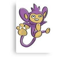 Aipom Pokemon  Canvas Print