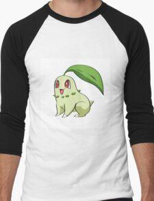 Chikorita Pokemon Men's Baseball ¾ T-Shirt