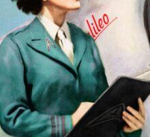 Join Starfleet - Vintage Style Retro Recruitment Poster Sticker