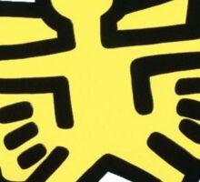 Keith Haring Angel Sticker