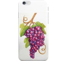 TUSCAN GRAPES iPhone Case/Skin