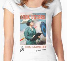 Join Starfleet - Vintage Style Retro Recruitment T-shirt Women's Fitted Scoop T-Shirt