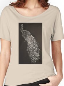 White Peacock II  Women's Relaxed Fit T-Shirt