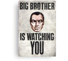 1984 Orwell Big Brother Canvas Print