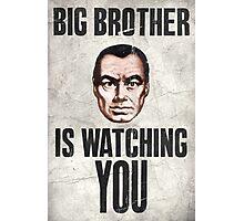 1984 Orwell Big Brother Photographic Print