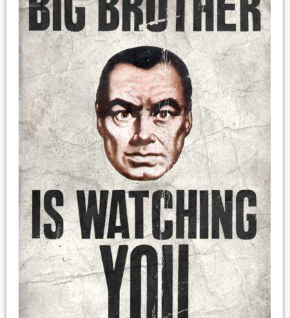 1984 Orwell Big Brother Sticker