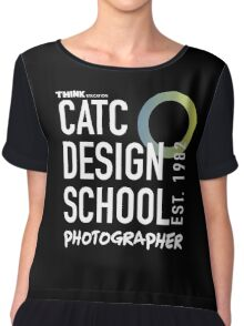CATC - DESIGN SCHOOL PHOTOGRAPHY - WHITE Chiffon Top
