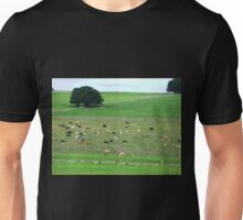 Dairy herd resting - South Purrumbete, Vic. Unisex T-Shirt
