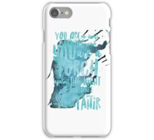 a torch against the night iPhone Case/Skin