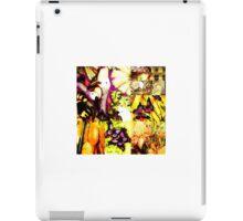 yellow tropics iPad Case/Skin