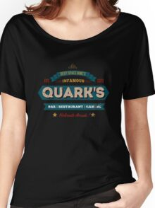 Retro DS9 Quarks Bar Vintage Style design Women's Relaxed Fit T-Shirt