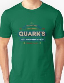 Retro DS9 Quarks Bar Vintage Style design Unisex T-Shirt