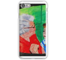 TEACH ME GRANDMA iPhone Case/Skin