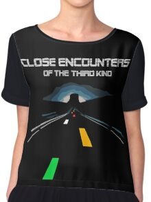 CLOSE ENCOUNTERS OF THE 3° KIND - ROAD LIGHTS Chiffon Top