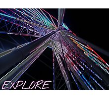Explore new heights Photographic Print