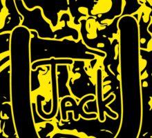 JACK Ü ARTWORK (YELLOW) Sticker