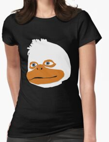 The Duck Himself Womens Fitted T-Shirt