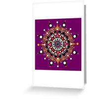 mandala 017 Greeting Card