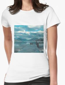 peace of mind Womens Fitted T-Shirt