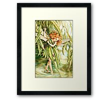 Water Fairy Framed Print