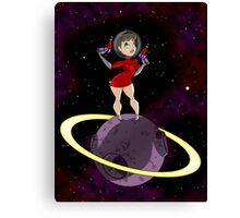 Sci-Fi Chick Canvas Print