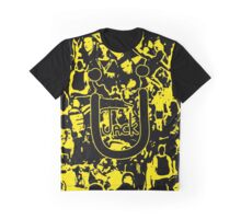 JACK Ü ARTWORK (YELLOW) Graphic T-Shirt