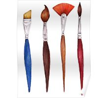 set brushes_color pencil Poster
