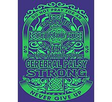 Cerebral palsy Photographic Print
