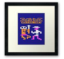 JUNGLE HUNT - CLASSIC ATARI GAME Framed Print
