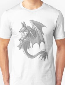 Sketchy Toothless Unisex T-Shirt
